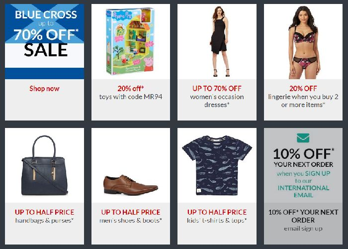 Debenhams Deals
