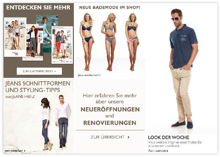 Jeans Fritz Angebot
