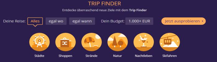 Momondo Trip Finder