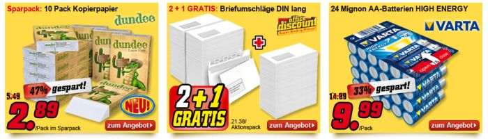 Office Discount Angebot