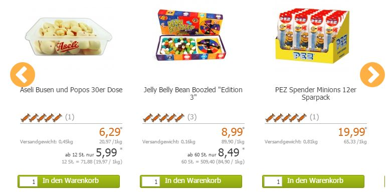 World of Sweets Angebot
