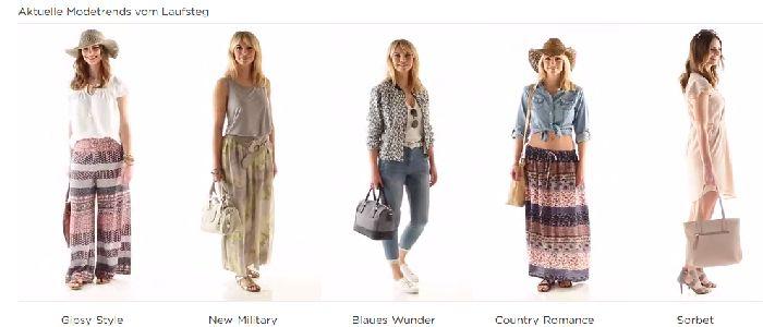 Aktuelle Mode-Trends bei Baur